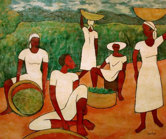 Jamaican Interlude by Karl Parboosingh (c.1958)
