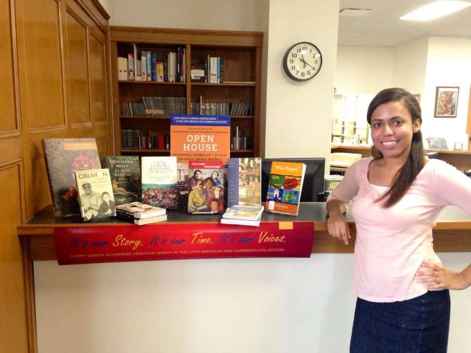 Angie Soto, New Book Display 2014