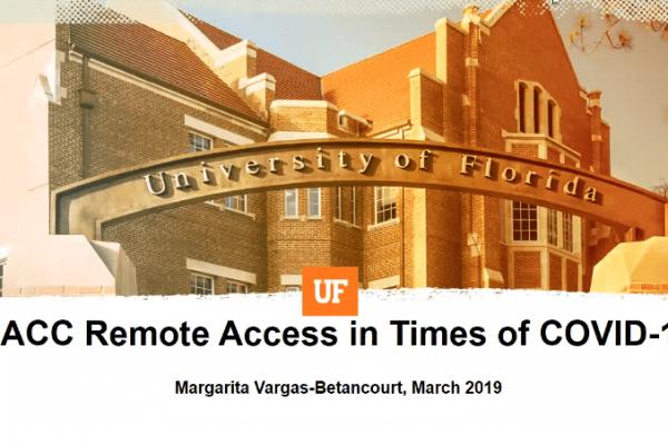 Remote Access in the Times of COVID-19 Webinar