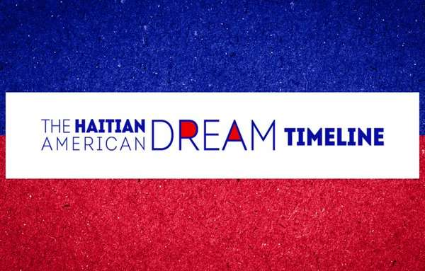 Banner image for The Haitian American Dream Timeline